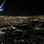 ラスベガス上空