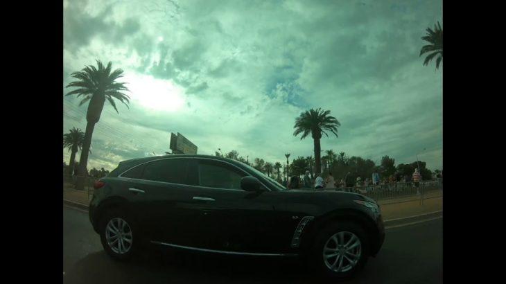 ただひたすらラスベガスの車窓