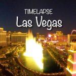 【ラスベガス絶景】世界一美しい夜景をタイムラプスで撮影!ホテルからの都市風景/Las Vegas Timelapse 4K