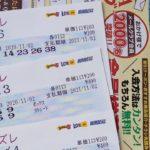 結果と数字選択式宝くじとMEGABIG買いましたよ(・∀・)皆様に幸運が訪れますように( ╹▽╹ )