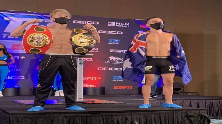 ✅  WBA&IBF世界バンタム級統一王者・井上尚弥の聖地ラスベガス・デビュー戦は1日(現地時間10月31日)に行われる。日本人軽量級ながらメインイベンターに抜てきされ、ファイトマネーは破格の1億円。
