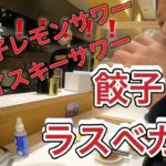 福岡出張1日目【餃子ラスベガス】激うま餃子と自家製レモンサワー&ウイスキーサワー