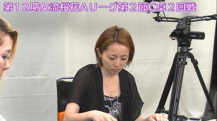 【麻雀】第12期女流桜花Aリーグ第2節C卓2回戦