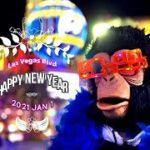 2021 New Year Las Vegas Count Down / 2021年新年 ラスベガス・ストリップ