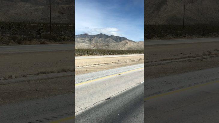 Drive LA to Las Vegas.ロサンゼルスからラスベガスへドライブ【Nipton Baker, California】
