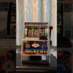 ラスベガスのスロットマシーンのおもちゃ Las Vegas slot machine toy
