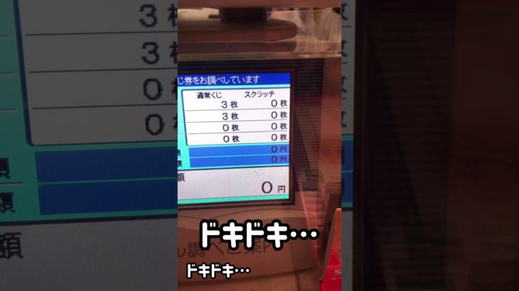 【リアル】年末ジャンボ宝くじ