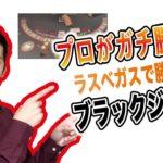 【奇跡が起きるw】【ラスベガスルールでブラックジャック勝負!!】プロギャンブラーは5万円を増やせるか?☆3シュー目前半☆