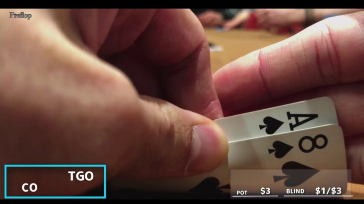 【1日1ハンド】ラスベガスでポーカー【シーザースパレス】