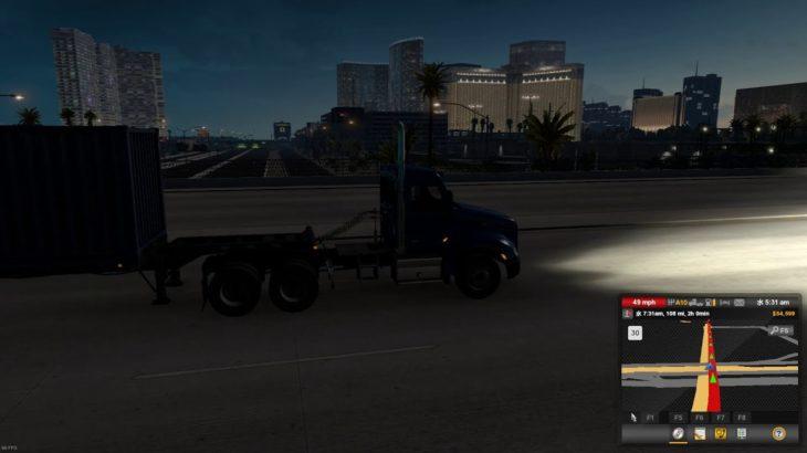 そうだ!ドライブへ行こう!American Truck Simulator 第8回ラスベガスからキングマン