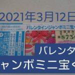 バレンタインジャンボミニ宝くじ 第873回 全国自治宝くじ 結果発表 2021年3月12日