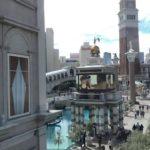 Las Vegas Strip View 2019 Treasure island, Palazzo, Mirage ラスベガス ストリップ トレジャーアイランド ホテル