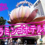ラスベガスで滞在していたフラミンゴホテルの紹介 Introducing the Flamingo Hotel where I was staying in Las Vegas