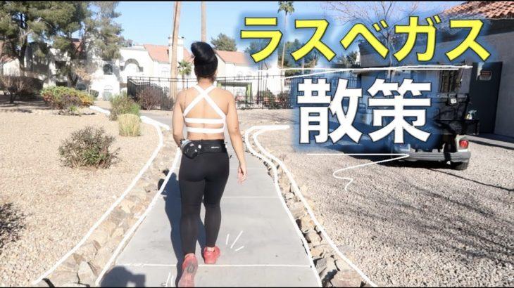 ラスベガス自宅の周りを初公開【国際ファミリーの散歩VLOG】アメリカ生活|新米ママ|黒人ハーフ